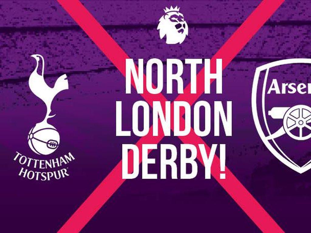Link Live Streaming Tottenham Hotspur Vs Arsenal