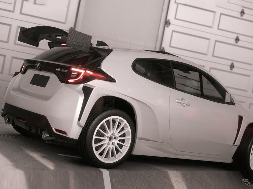 Lihat Lebih Dekat Toyota GR Yaris AP4