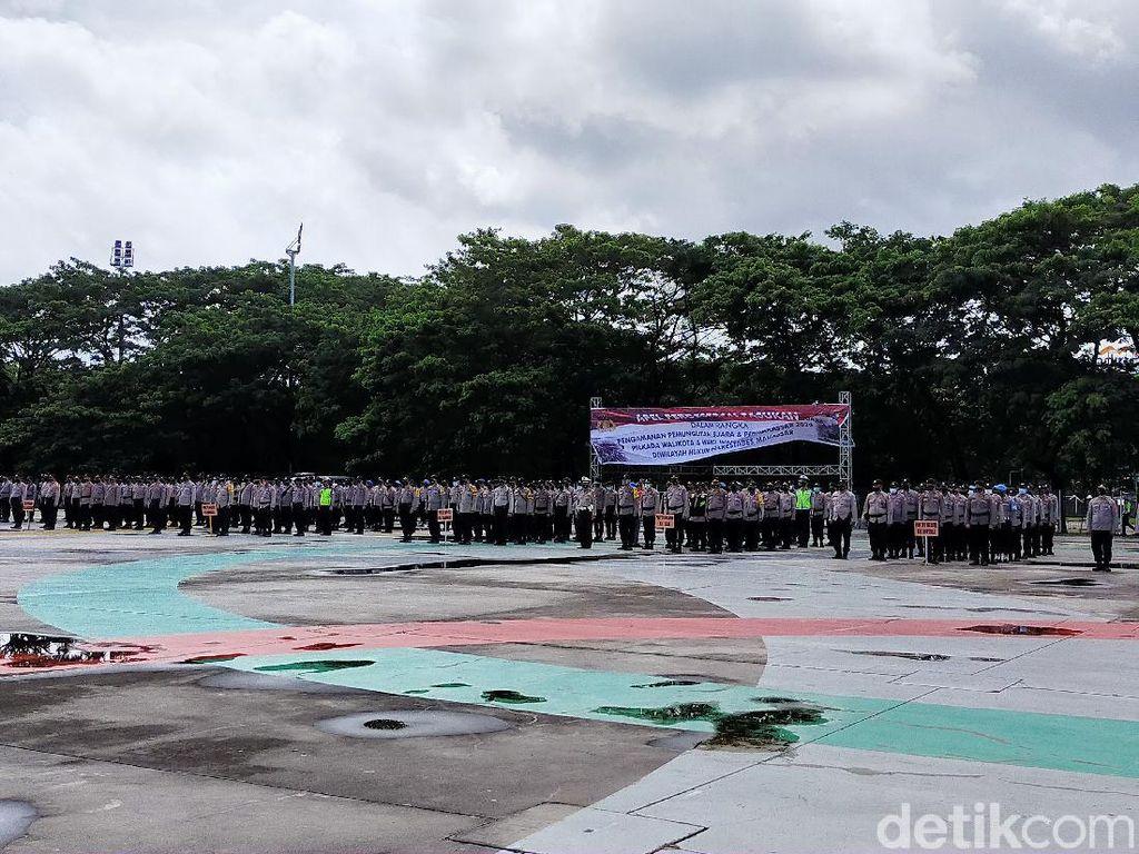 2.692 Polisi Amankan Pilwalkot Makassar hingga Penegakan Protokol COVID-19