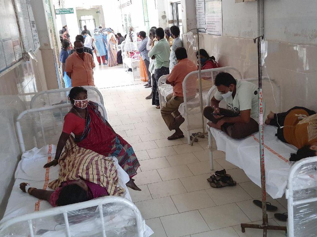Penyakit Misterius di India, Jejak Timah-Nikel Ditemukan di Darah Pasien