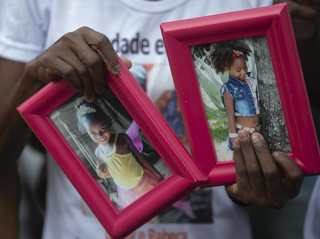 Tragis! 2 Bocah Brasil Tewas Terkena Peluru Nyasar Saat Bermain