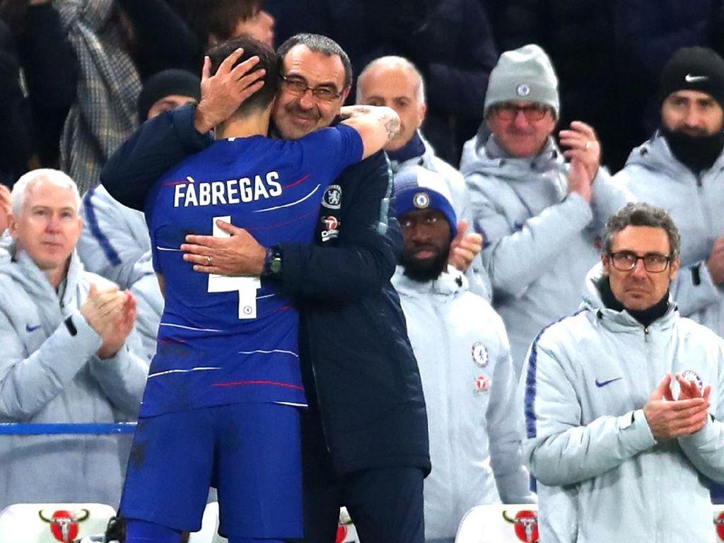 Satu Hal yang Bikin Fabregas Keki sama Sarri di Chelsea