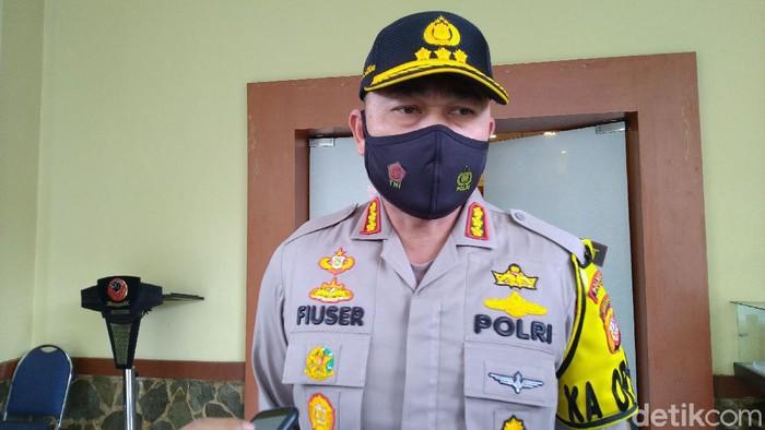 Kapolres Bogor Kota Kombes Hendri Fiuser.