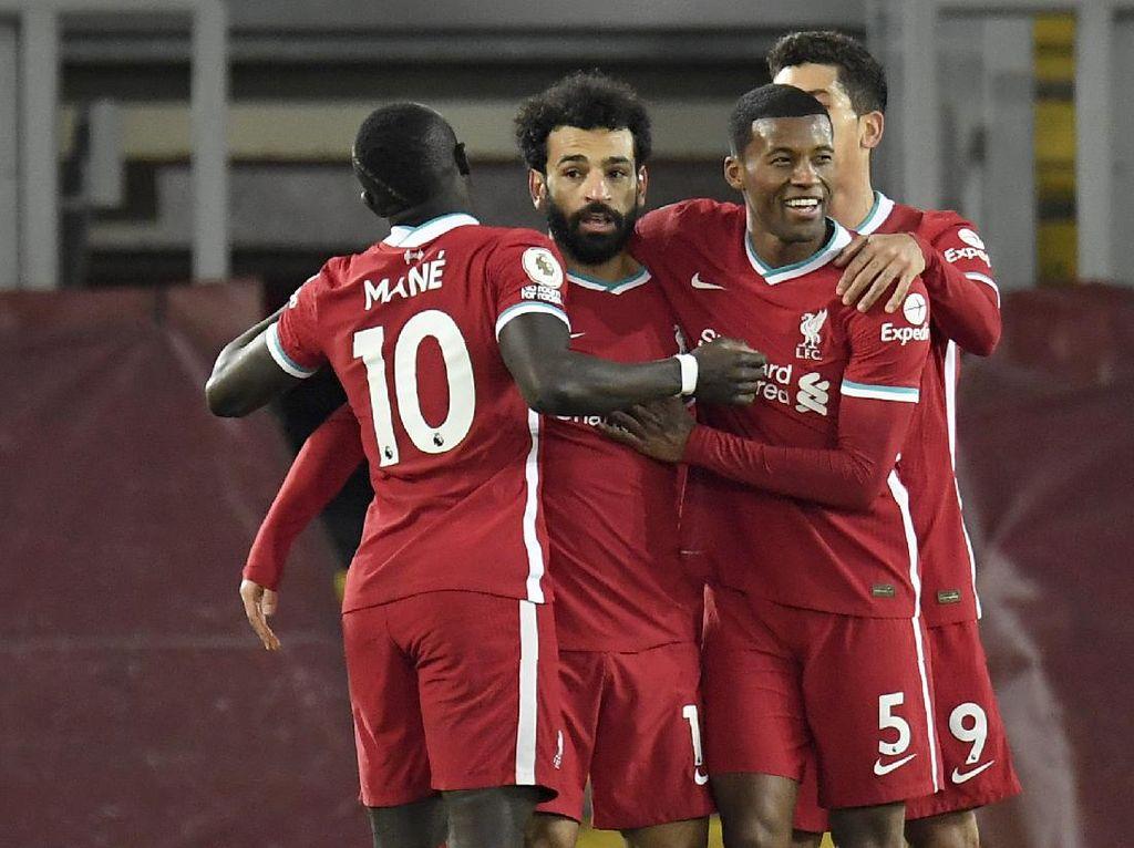 Liverpool Vs Wolverhampton Wanderers: The Reds Pesta 4-0