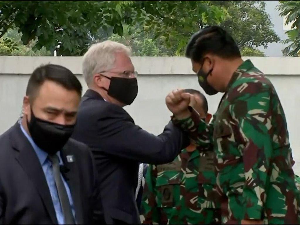 Plt Menteri Pertahanan AS Sambangi Mabes TNI