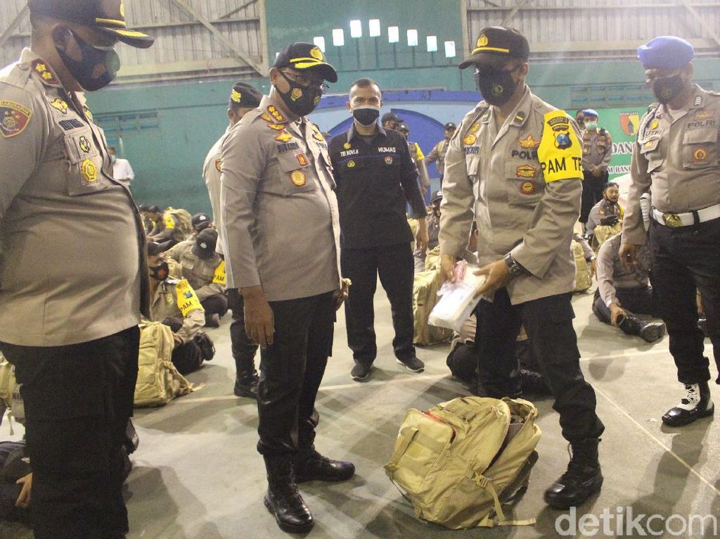 1.150 Polisi Disiagakan untuk Amankan Pilkada 2020 di Sidoarjo
