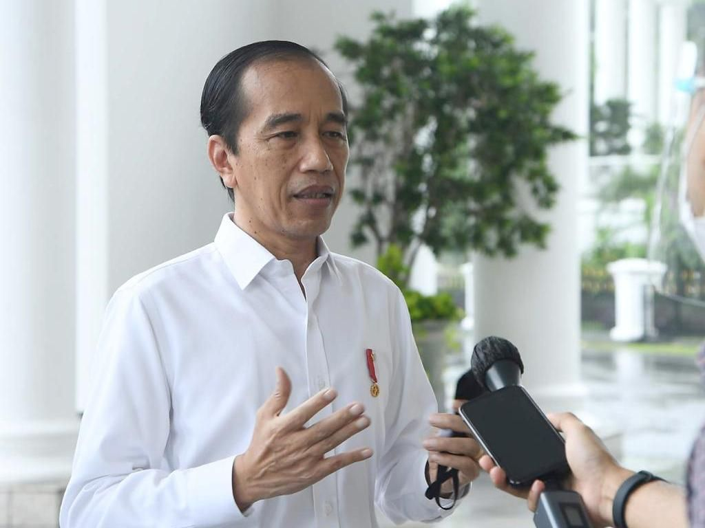 Jokowi Persilakan Warga Mengadu ke Komnas HAM soal Tewasnya Warga Sipil