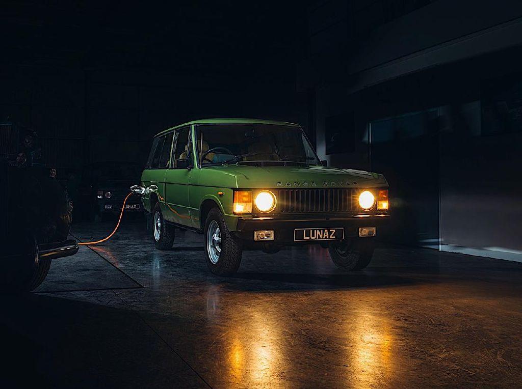 Ketika Range Rover Klasik Disulap Jadi Mobil Listrik