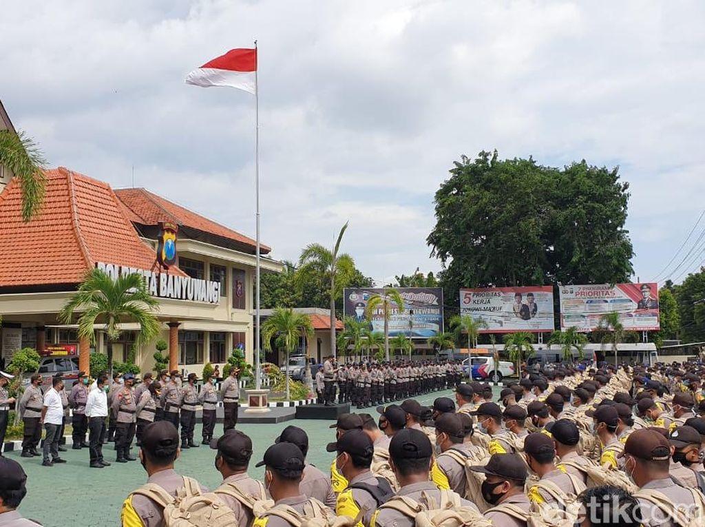 Non Reaktif, Ribuan Petugas Pengamanan Pilkada Bergeser ke TPS