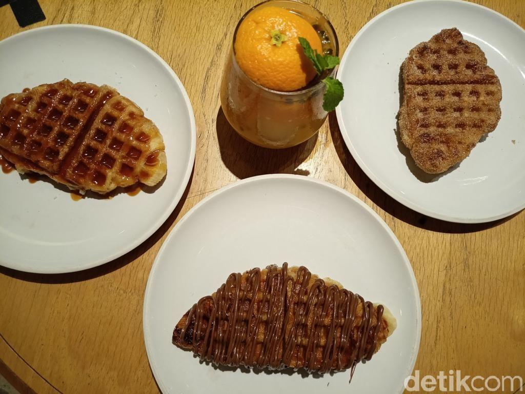 Croffle, Paduan Croissant dan Waffle yang Renyah Legit Bisa Dicicipi di Sini