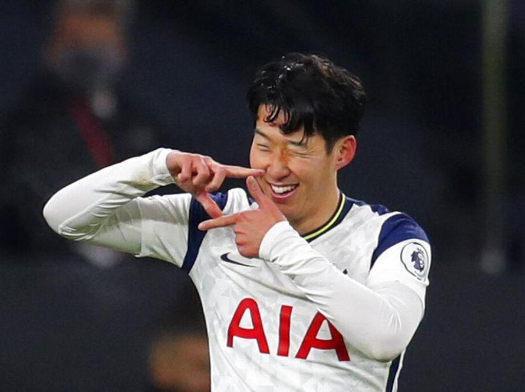 Son Heung-min Catat Gol ke-100 untuk Tottenham