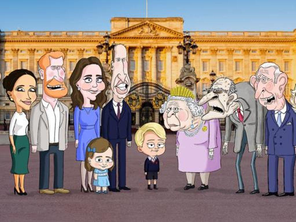 Pangeran George Jadi Bahan Ejekan Acara Kartun Ini