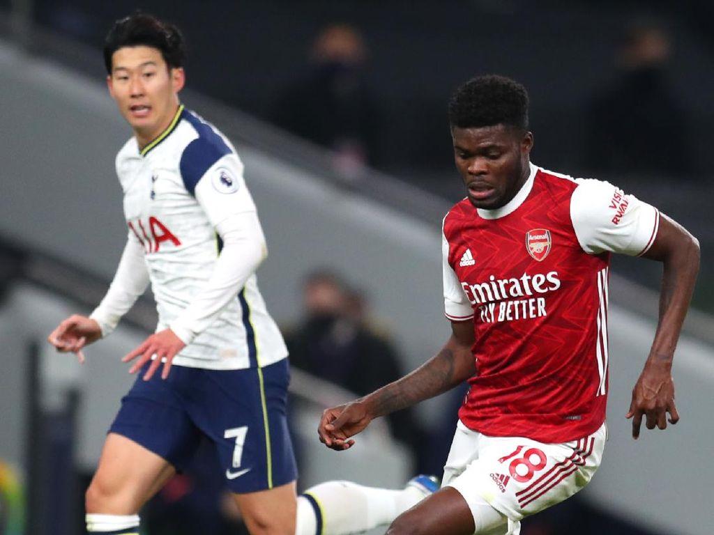 Arteta Salahkan Partey pada Gol Kedua Tottenham