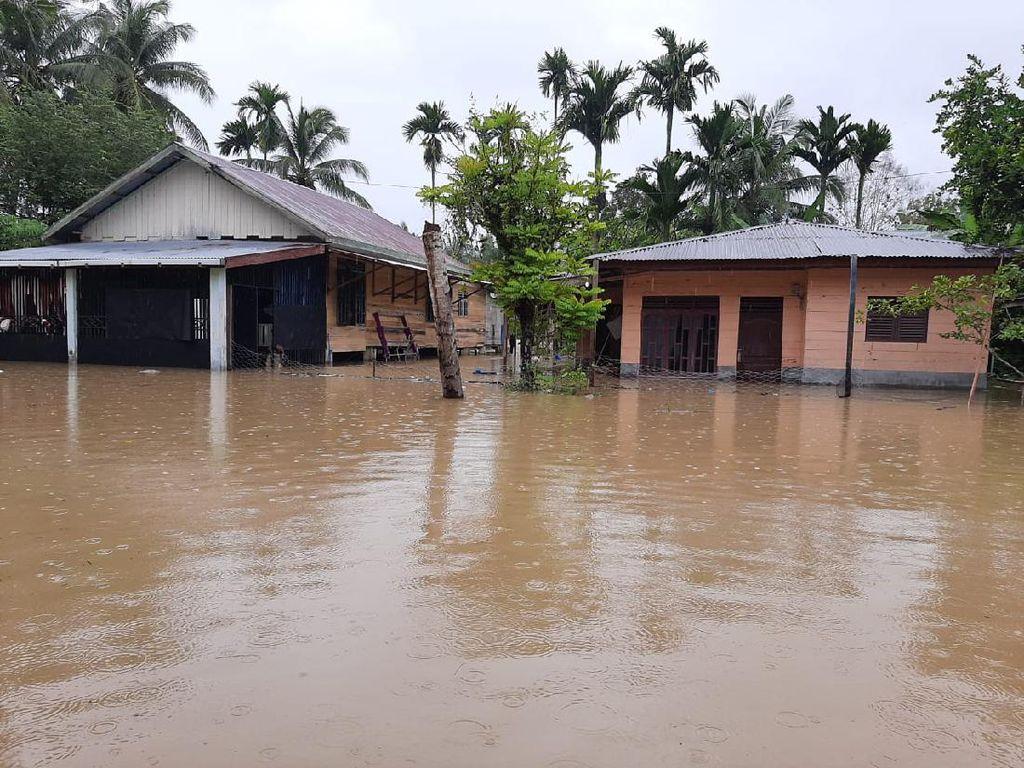Banjir Rendam 9 Desa di Lhokseumawe Aceh