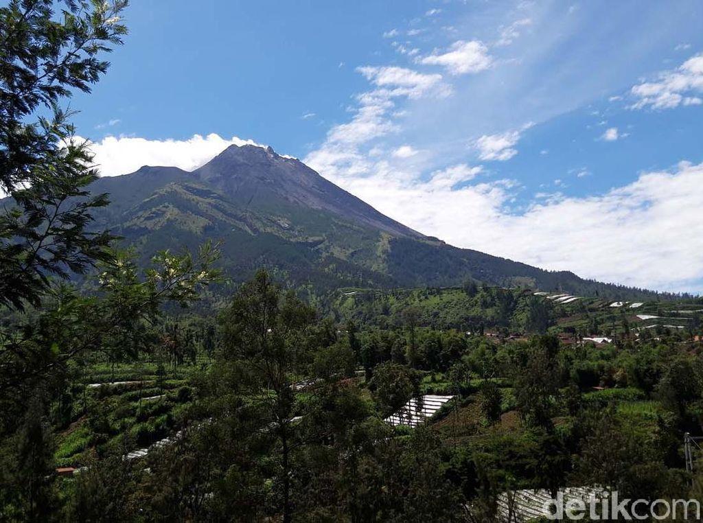 CCTV di Puncak Gunung Merapi Rusak, Begini Penjelasan BPPTKG