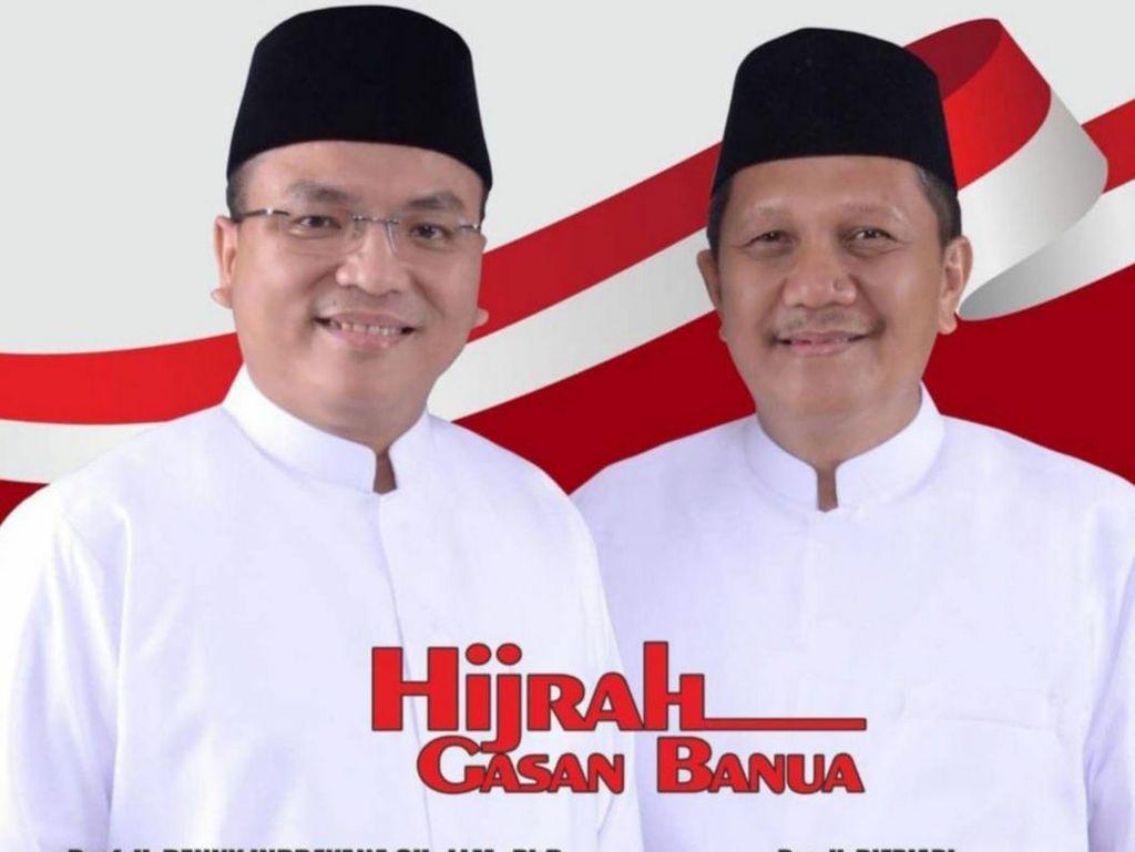 QC Pilgub Kalsel Charta Politika 83%: Denny Indrayana Ungguli Paman Birin