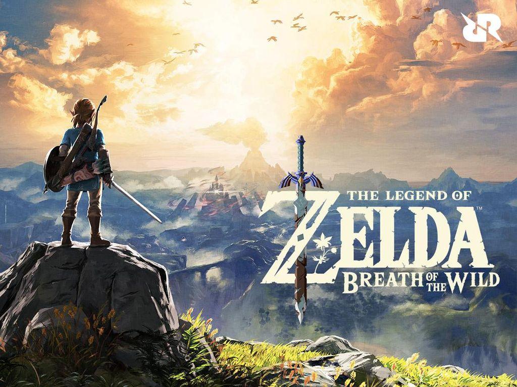 Legend of Zelda: BOTW Tampil Mewah di Resolusi 8K dan Ray Tracing