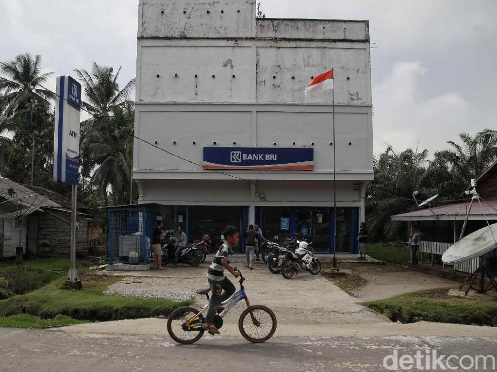 Geliat Aktivitas Pelayanan Bank BRI di Pulau Rupat