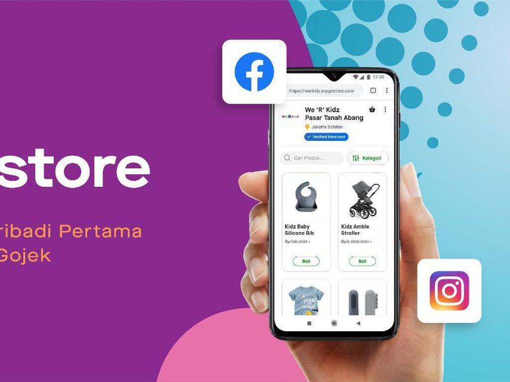 Ada GoStore, Gojek Siap Bantu Penjual Online Makin Cuan