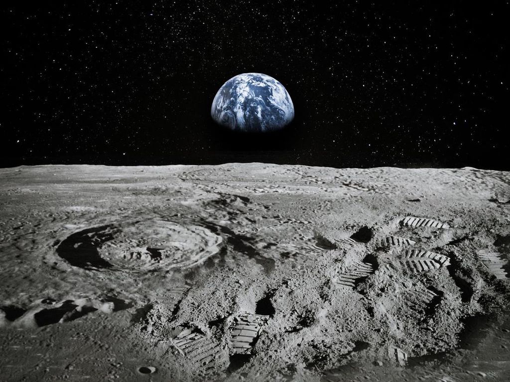 NASA Berhasil Uji Coba Roket Raksasa untuk Misi ke Bulan