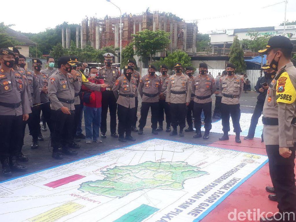 5.375 Petugas Gabungan Diterjunkan Agar Pilbup Tuban Berjalan Kondusif