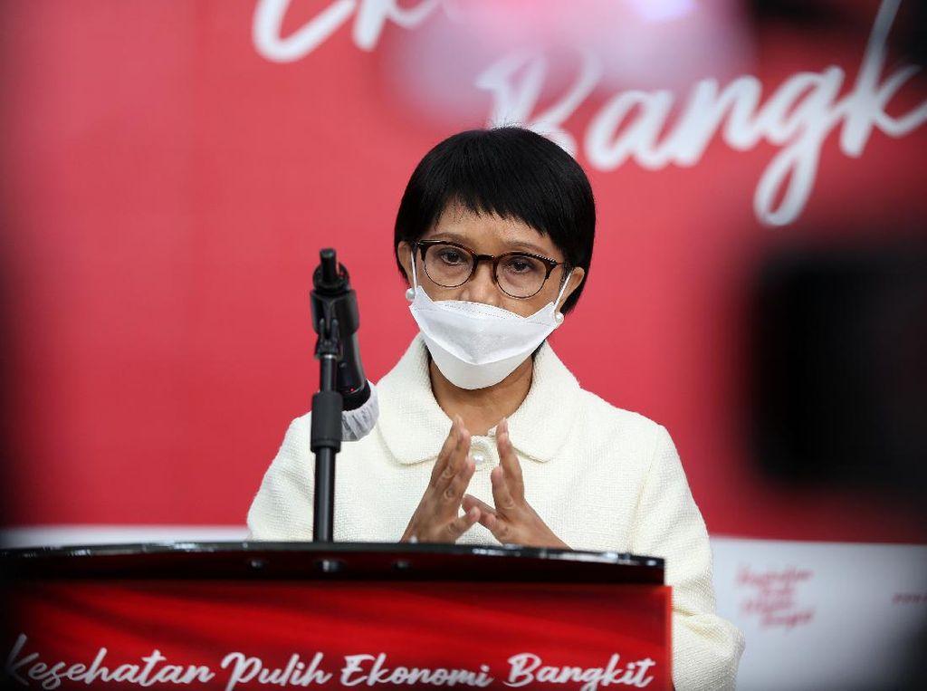 Menlu: Indonesia Terus Diplomasi Kawal Pengiriman Vaksin COVID-19