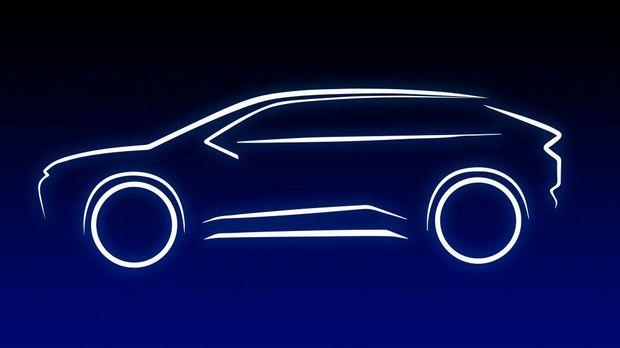 Materi penggoda calon mobil listrik baru Toyota berupa SUV dengan platform e-TNGA.