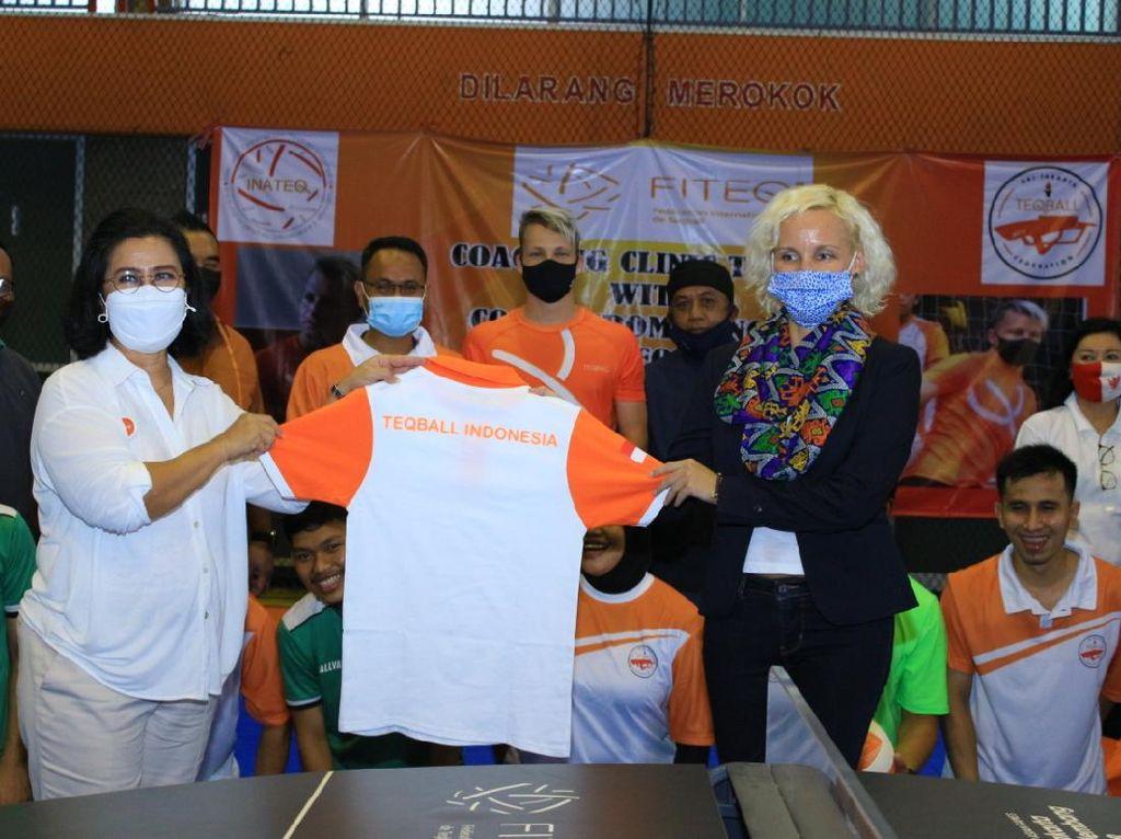 Olahraga Teqball Diyakini Bakal Berkembang di Indonesia