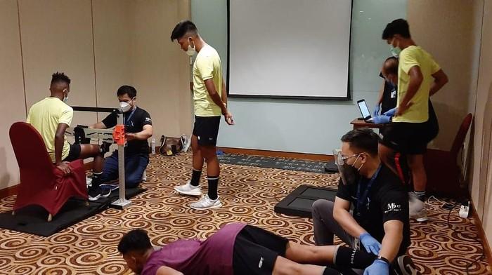Timnas Indonesia U-16 menerapkan sports science.