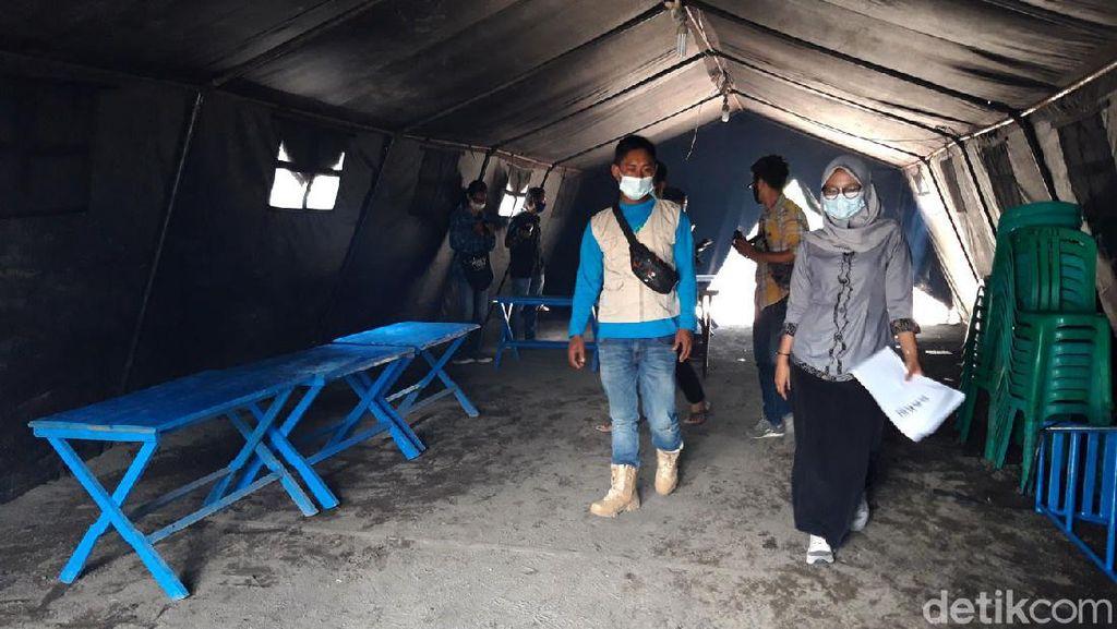 TPS Pilkada di Boyolali Didirikan di Lokasi Pengungsian Merapi