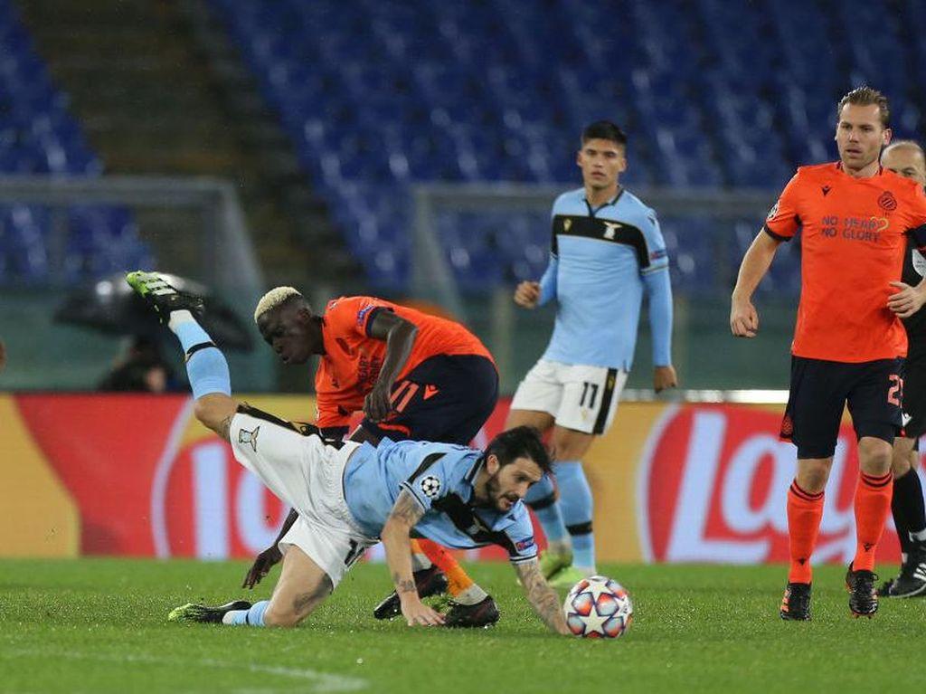 Lazio Dampingi Dortmund ke Babak 16 Besar Liga Champions