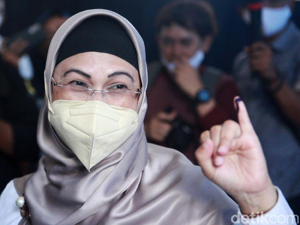 Putri Maruf Amin Unggul di TPS 08 Tangsel, Ponakan Prabowo Kalah