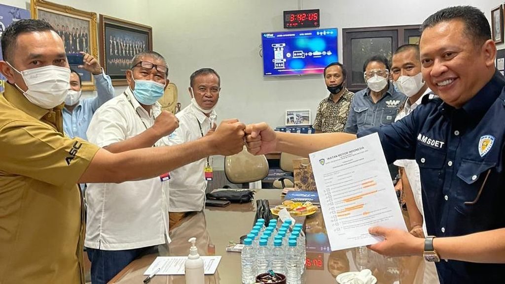 Bamsoet Jadi Calon Tunggal Ketum IMI Pusat 2021-2024