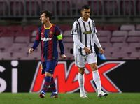 Ronaldo-Messi Kompak Main Jelek
