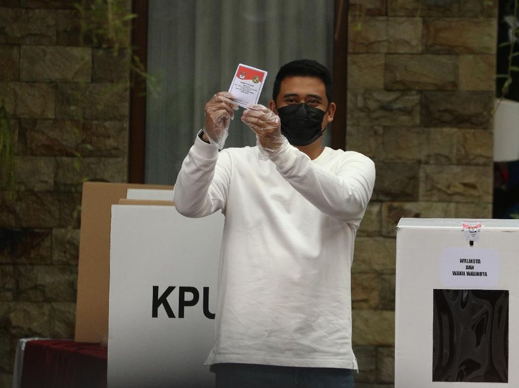 Quick Count Charta Politika Pilkada Medan 9%: Bobby Unggul Sementara