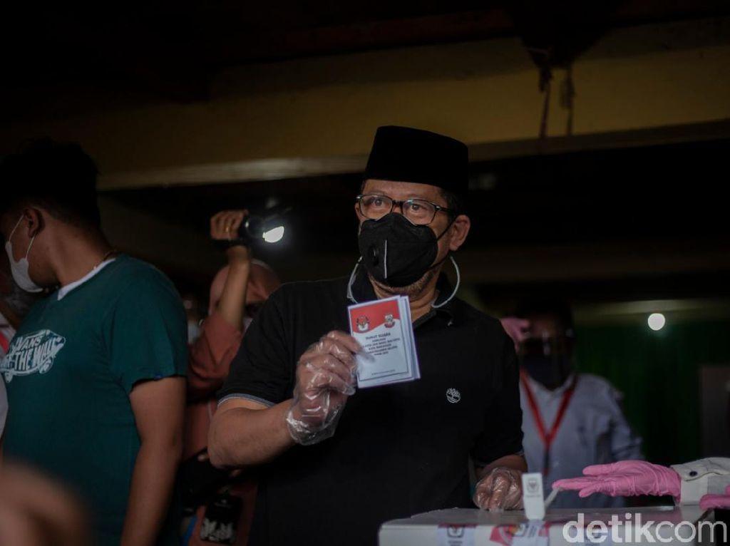 Nyoblos, Cawalkot Makassar Irman Yasin Limpo Soroti Prokes Cuma Seremonial