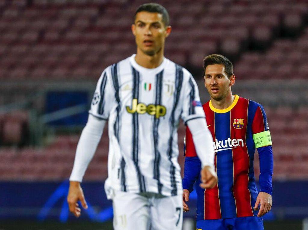 Tipis-tipis Gol Free Kick Cristiano Ronaldo Vs Lionel Messi