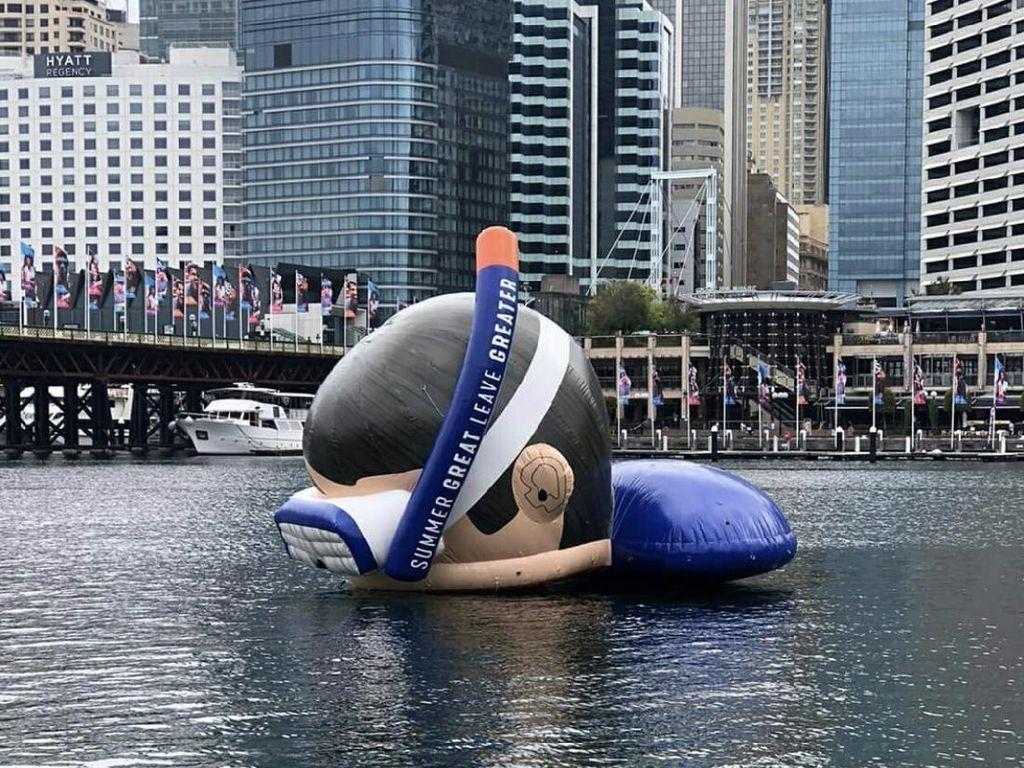 Floaties Raksasa Mengapung di Sydney, Ada Apa Ya?