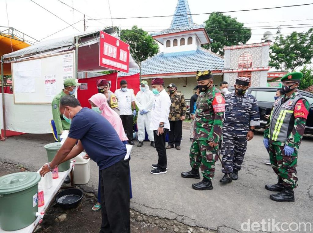 Forpimda Keliling Pantau Pelaksanaan Pilkada Banyuwangi