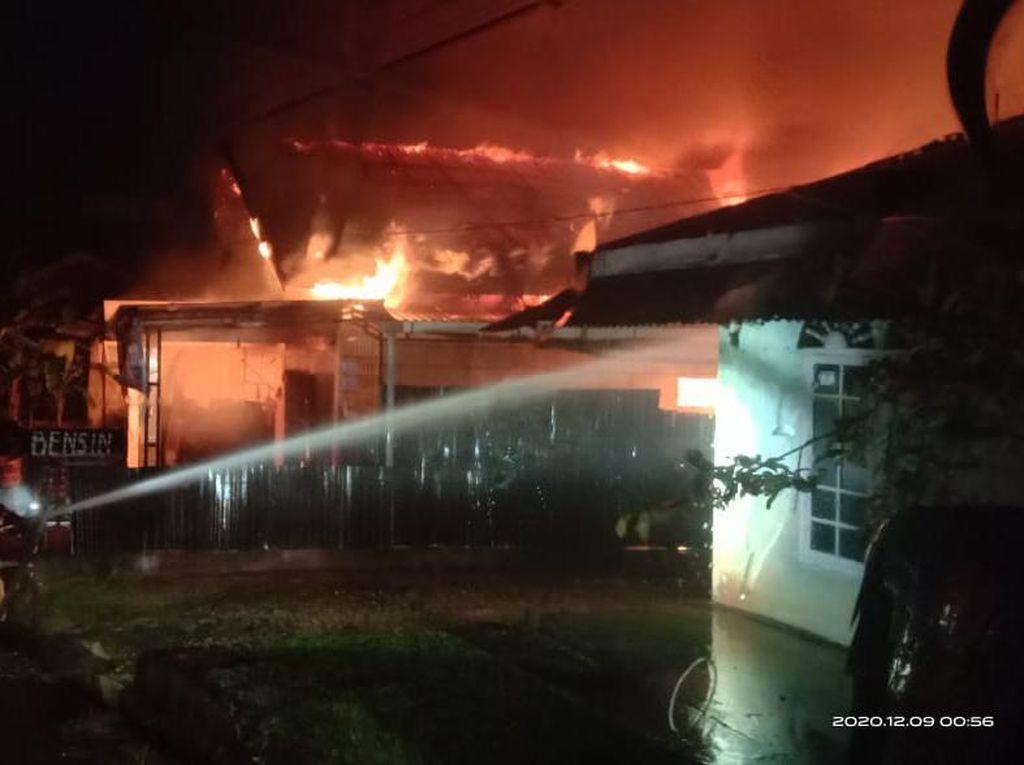 Kebakaran 1 Rumah di Jambi, Ayah dan Anak Tewas Terjebak Api