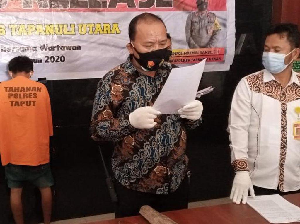Keji! Pria di Sumut Bunuh Ibu Kandung Gegara Tak Ada Nasi di Rumah