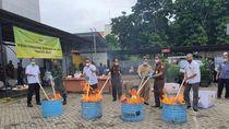 Sabu Sampai Tembakau Gorilla Senilai Rp 6 M Dimusnahkan Kejari Jaksel
