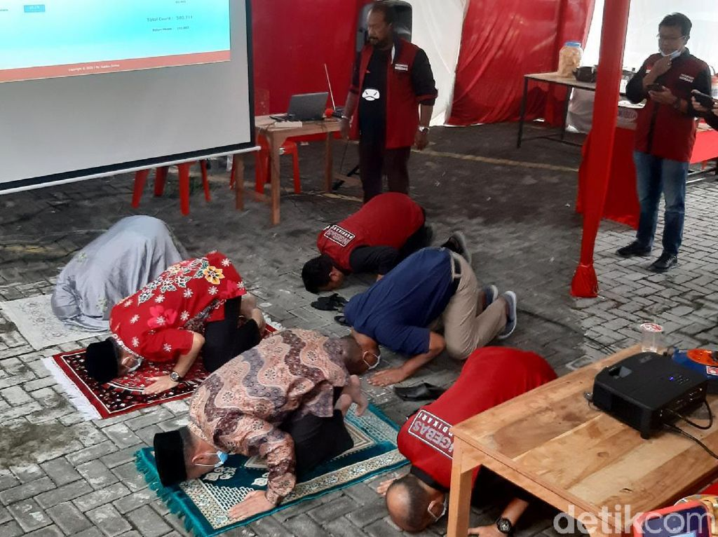 Ngebas Klaim Unggul dari Istri Bupati Semarang: Sapu Bersih di 8 TPS