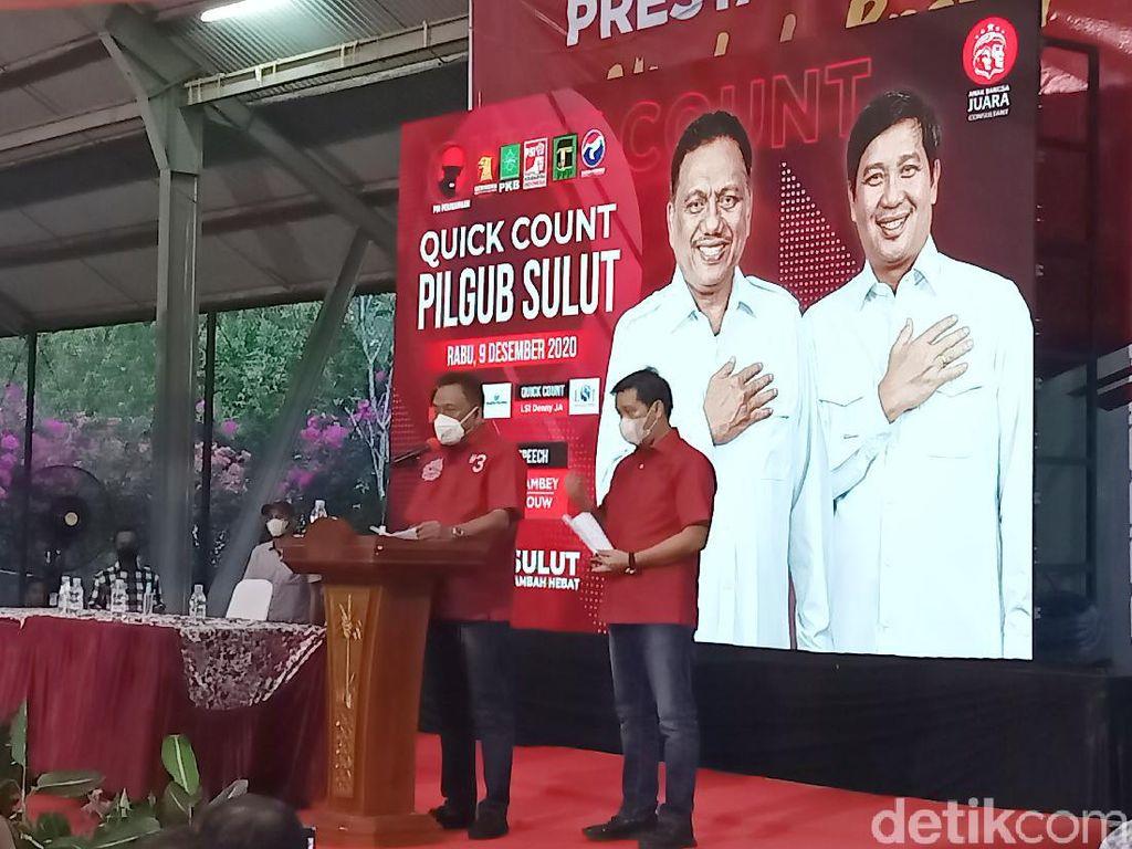 Terima Hasil Quick Count, Olly-Steven Deklarasi Kemenangan Pilgub Sulut