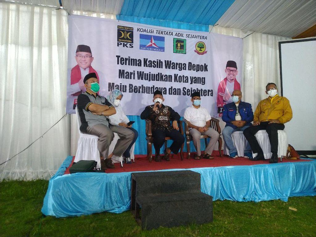 Pilkada Depok, Idris-Imam Klaim Menang 55,57% Versi Real CountPKS