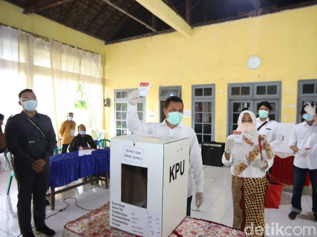 Petahana Pilbup Mojokerto Tumbang di Kandang Sendiri