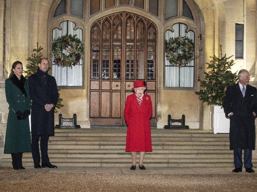 Reuni Ratu Elizabeth II dengan Pangeran William dan Charles Usai 9 Bulan