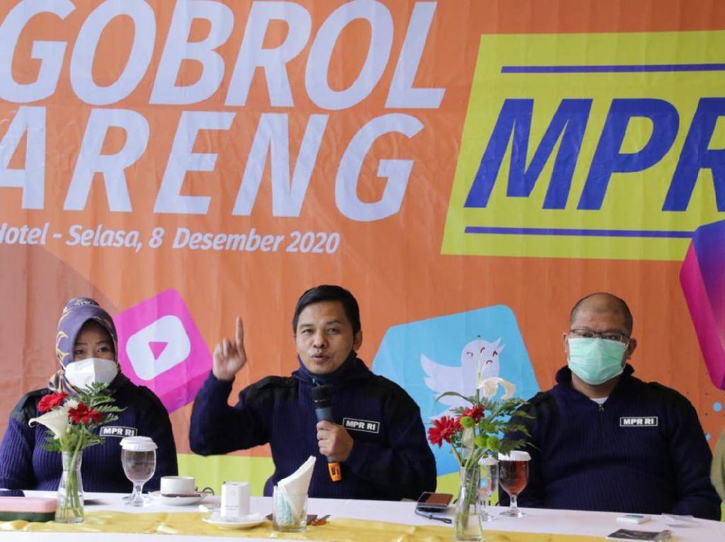 Sekjen MPR Ajak Netizen Sebarkan Nilai Empat Pilar