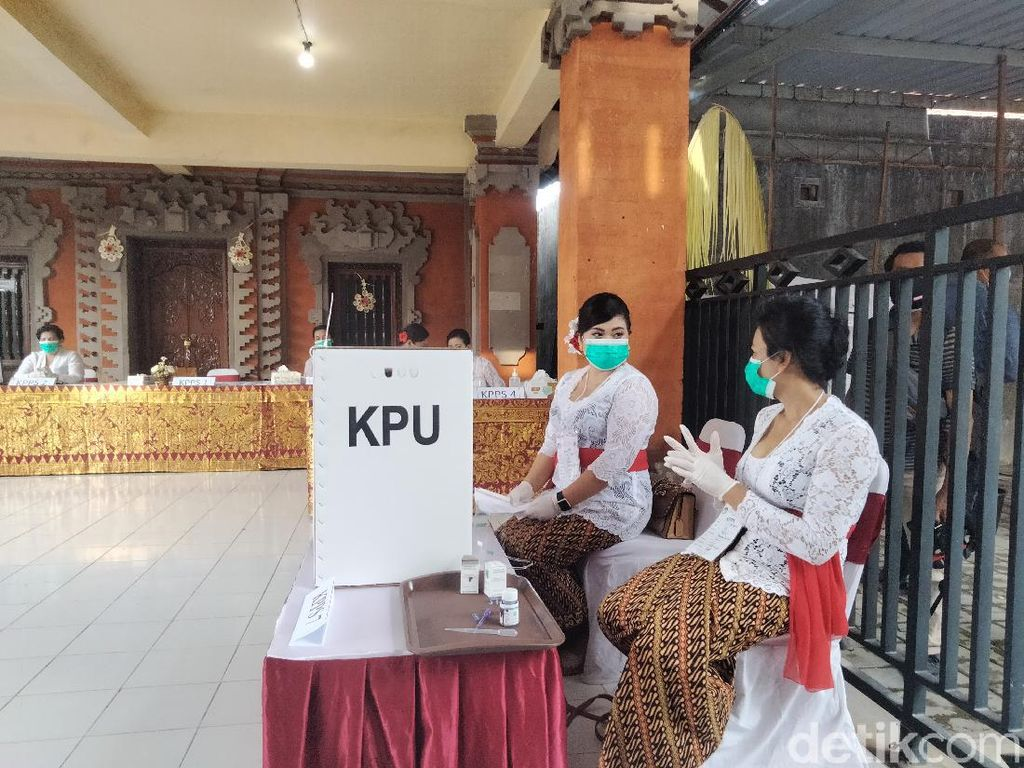 1 TPS di Denpasar yang Seluruh Petugasnya Perempuan, Menteri PPPA Apresiasi