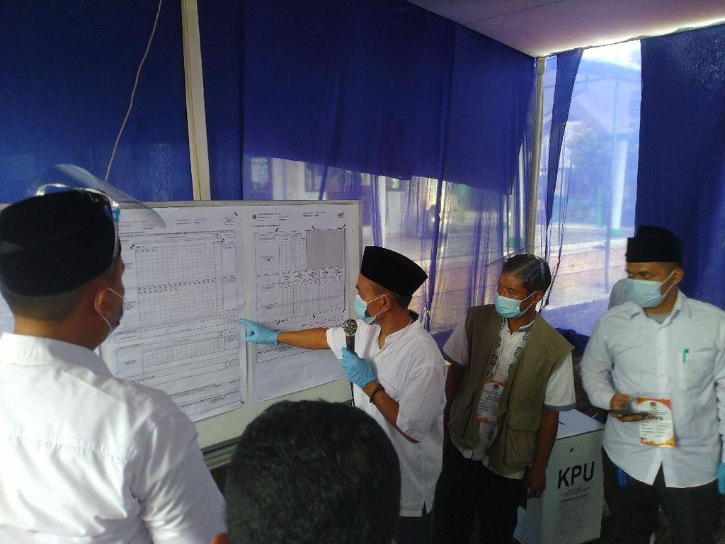 Cawalkot Depok M Idris Menang Telak di TPS Tempatnya Mencoblos